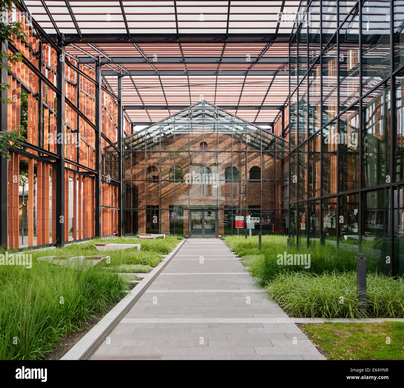 Garden Of Art: The Malopolska Garden Of Arts, Krakow, Poland. Architect