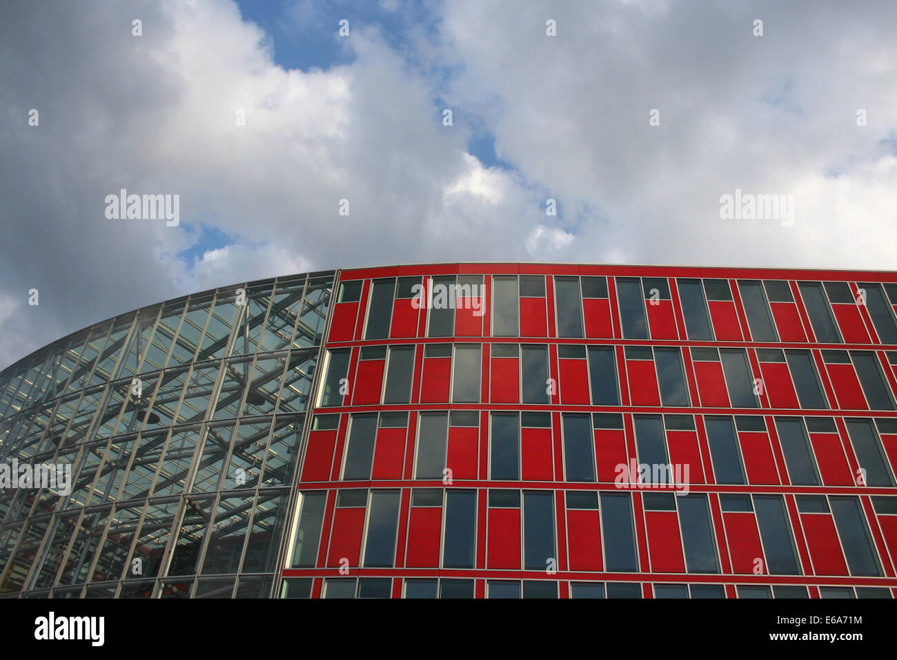 Glass Facade Of Office Building Royalty Free Stock Image: Office Building,glass Facade Stock Photo, Royalty Free