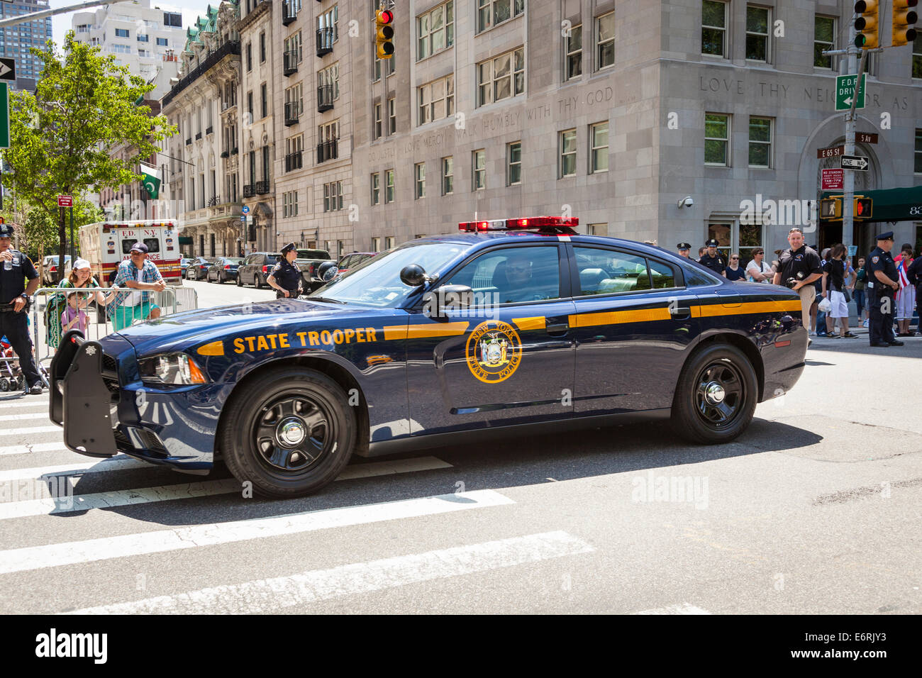 New York State Police State Trooper Car Manhattan New