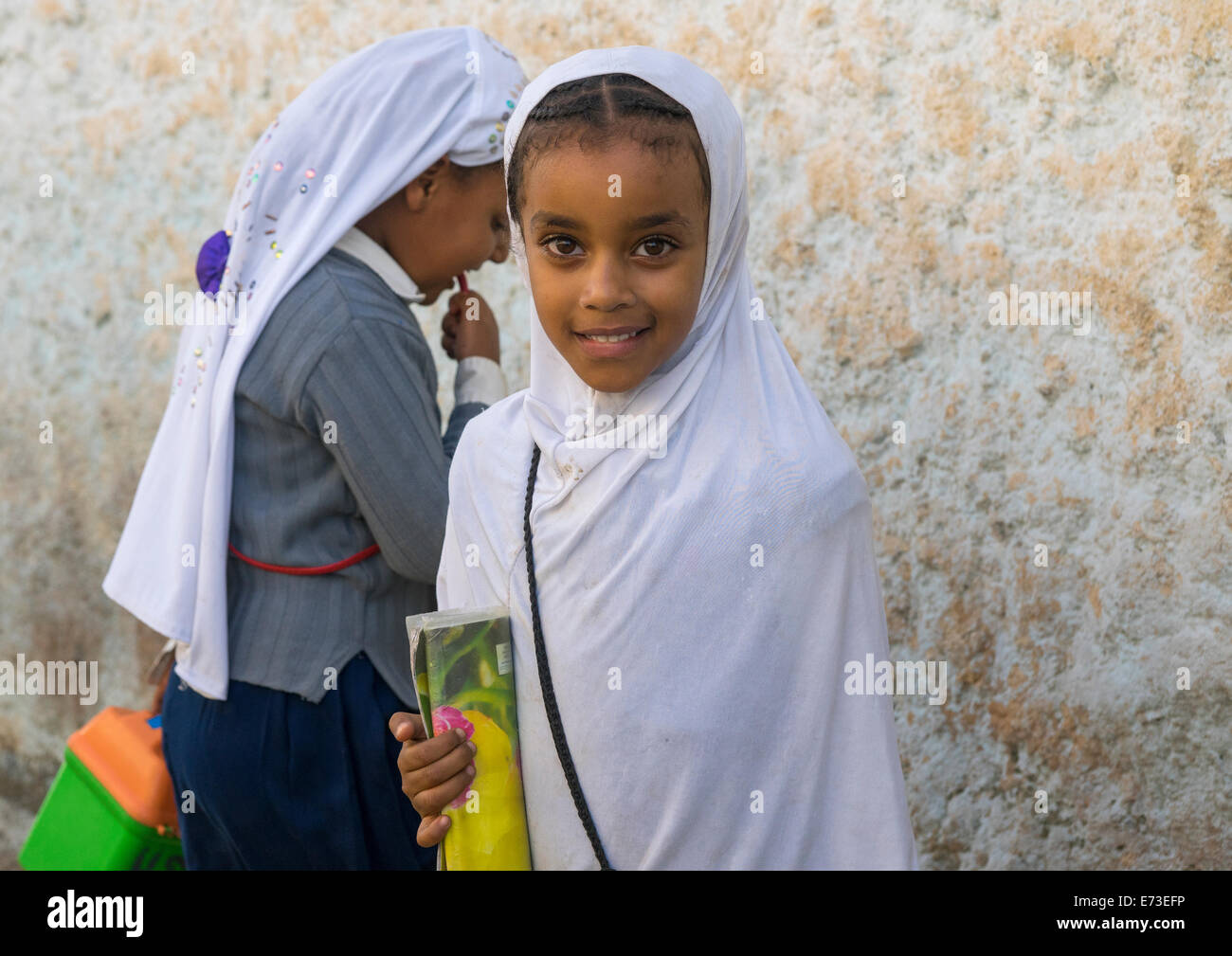 Ethiopian street girls