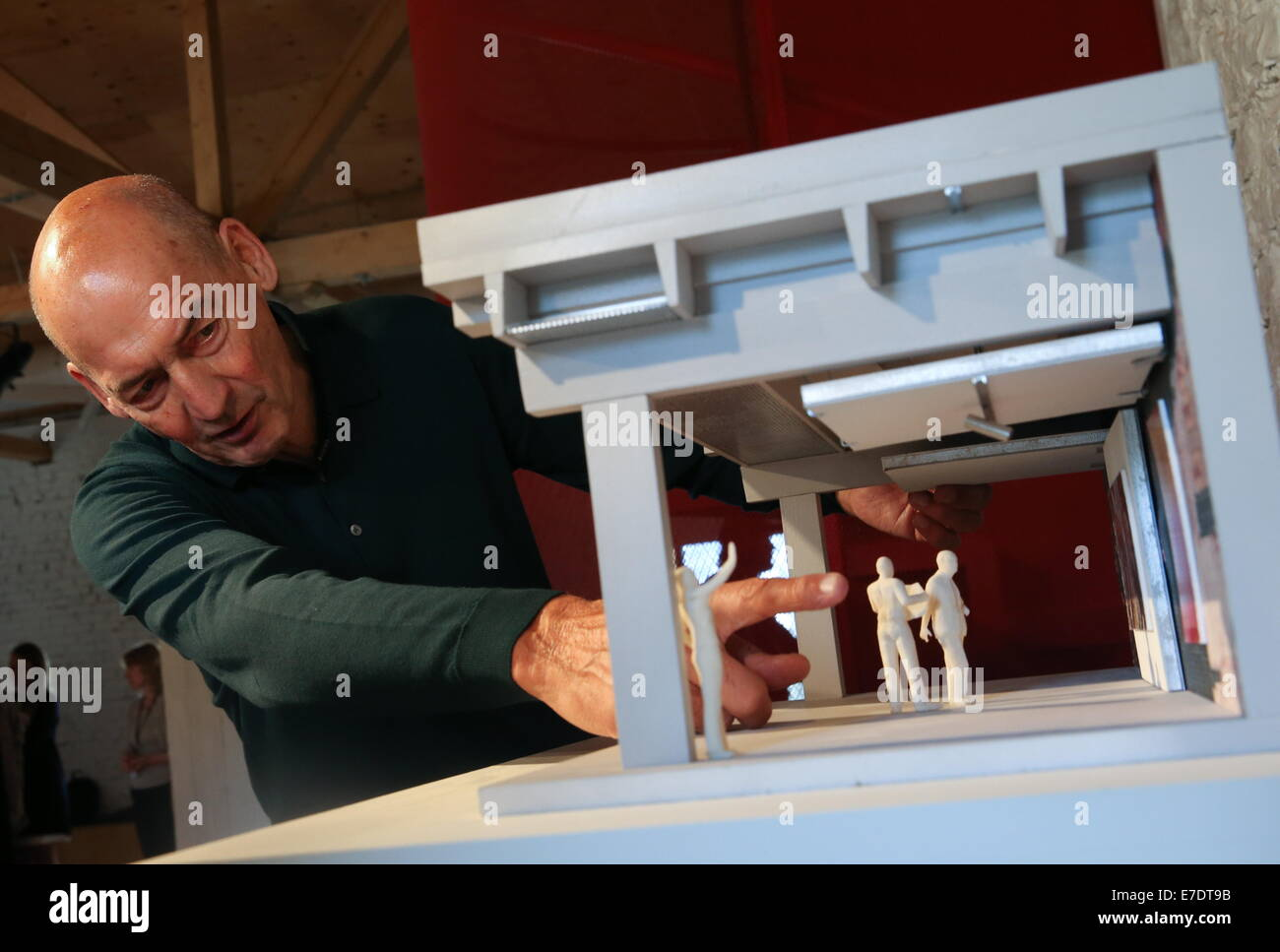 moscow russia 15th sep 2014 rem koolhaas architect for the stock photo royalty free image. Black Bedroom Furniture Sets. Home Design Ideas