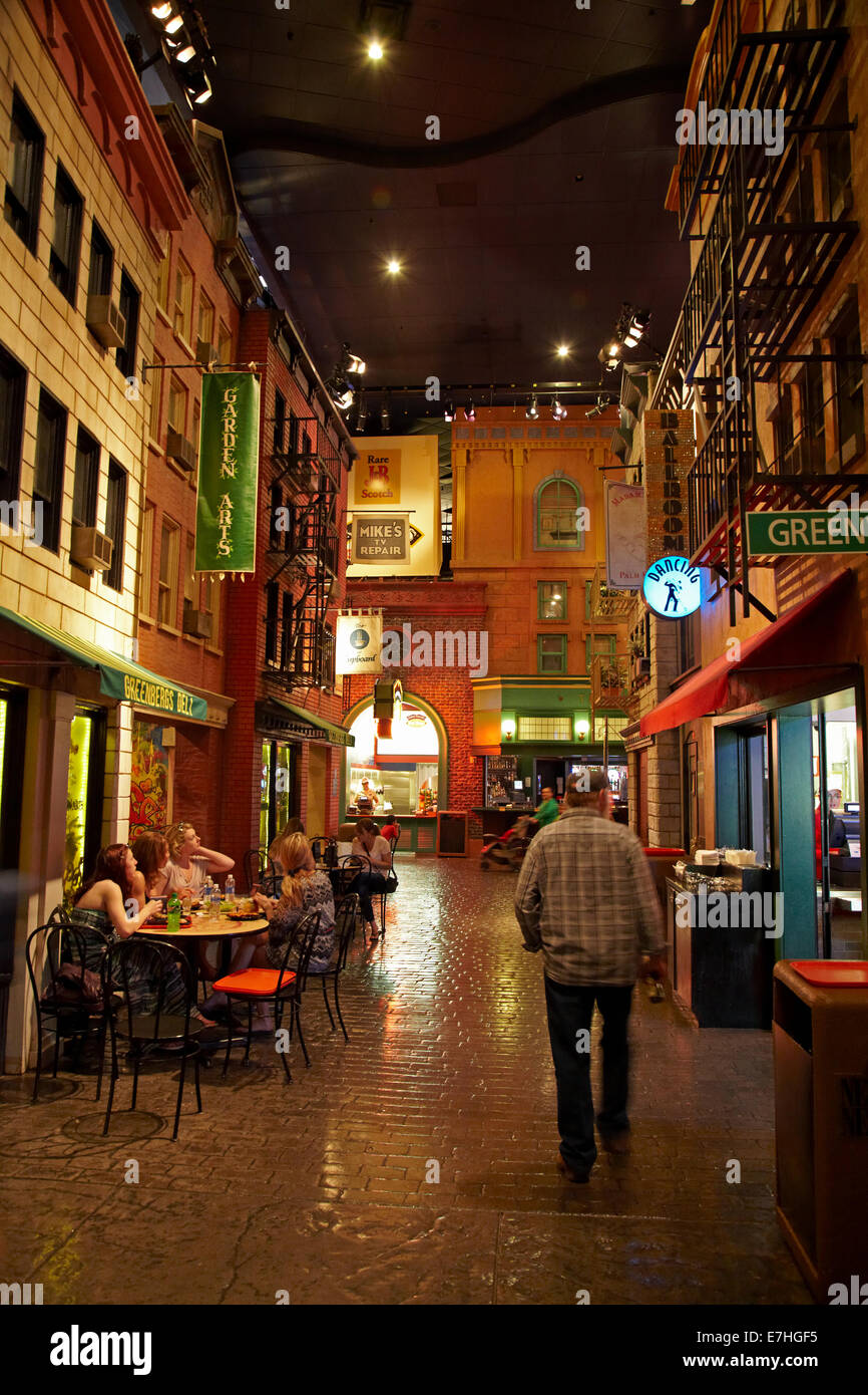 """Bars, cafes and restaurants at """"Greenwich Village"""", New ..."""