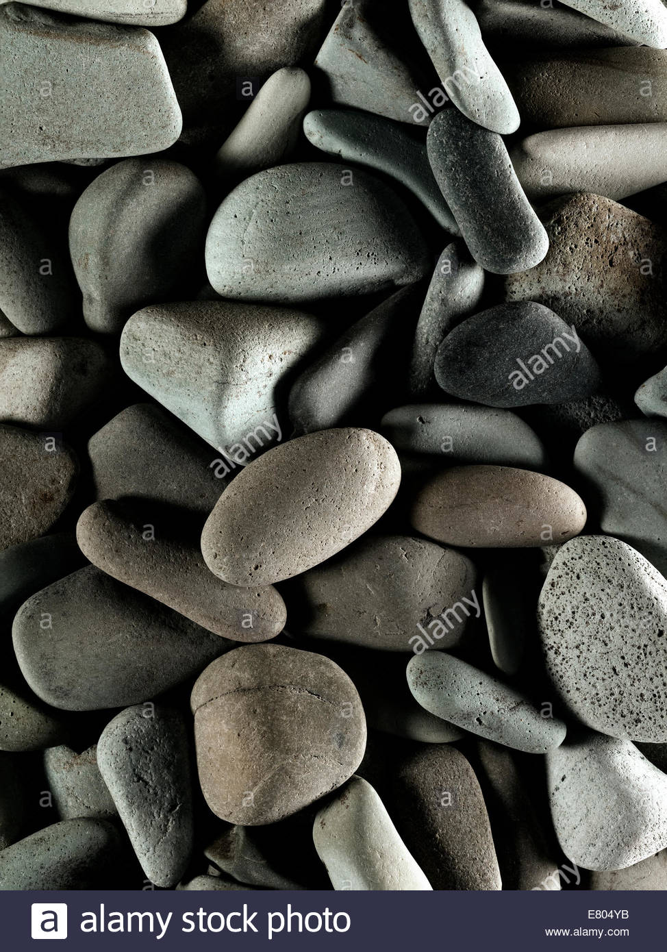 River or beach stone, perfect for backgrounds Stock Foto