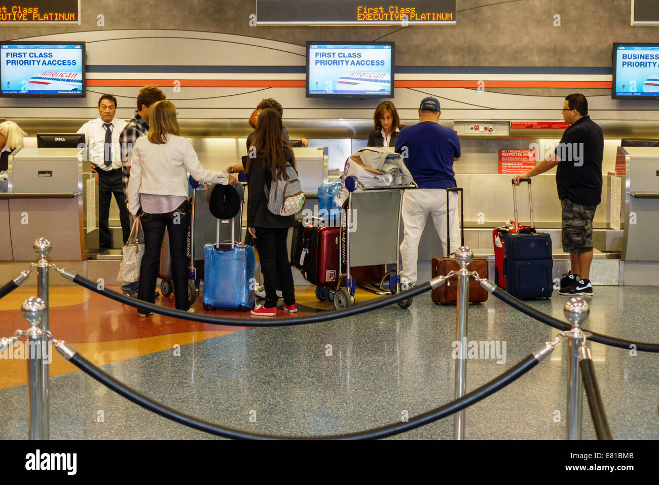 Miami Florida International Airport Terminal American
