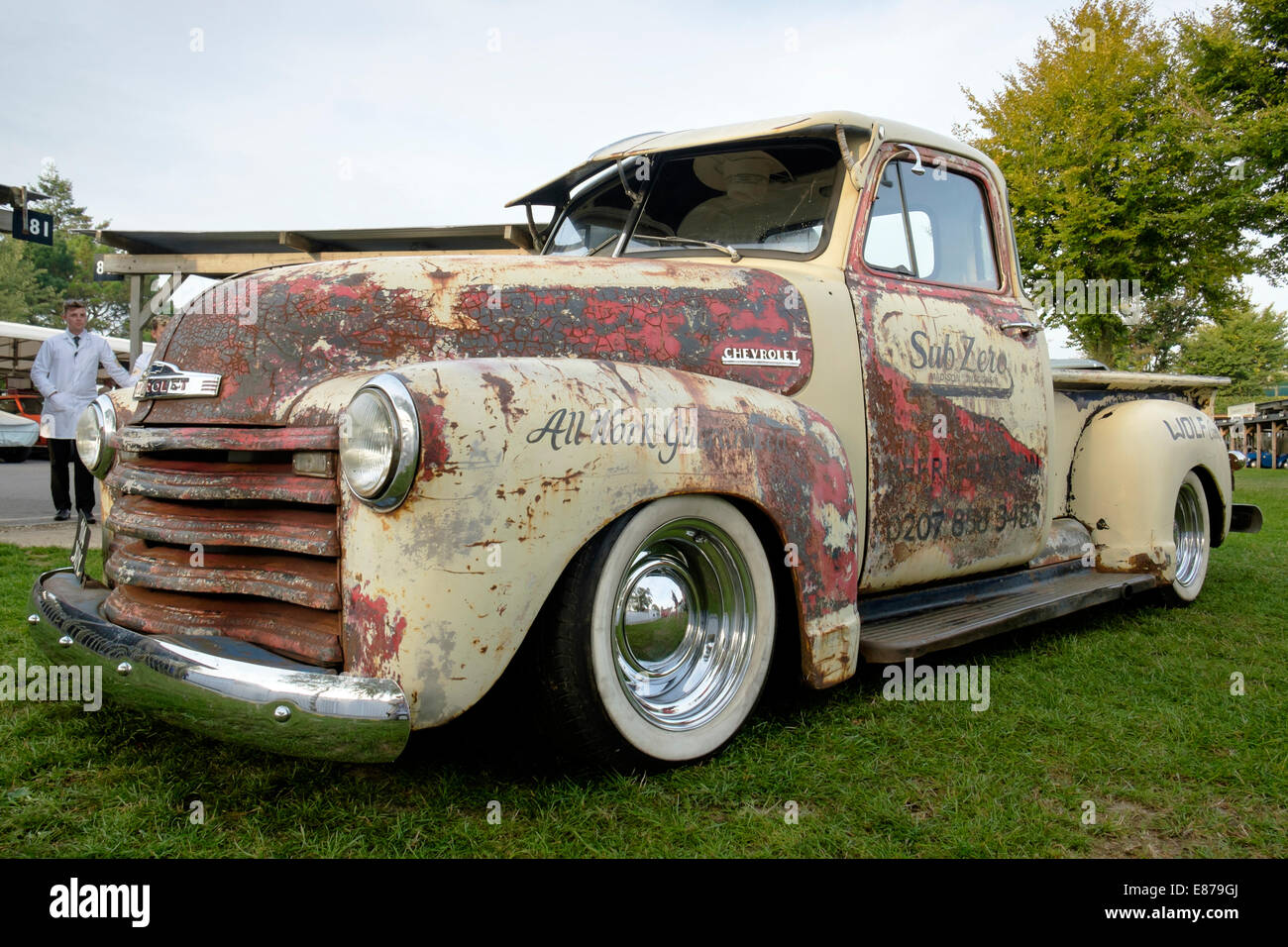 Tatty And Distressed Vintage Chevy Chevrolet Pick Up Truck