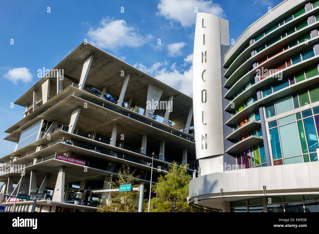 Miami Beach Florida Lincoln Road Movie Theater Theatre