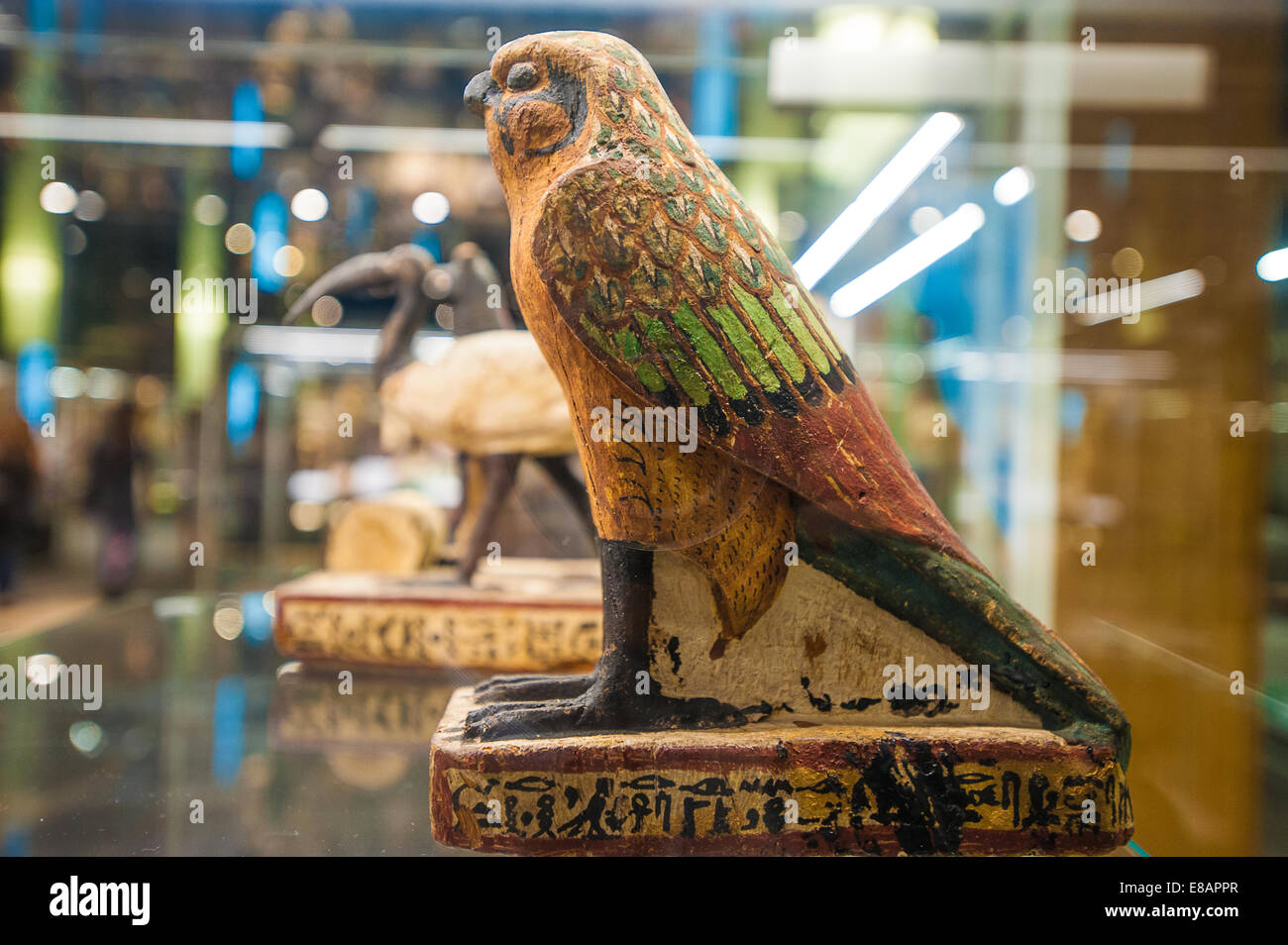 Italy Piedmont Turin Egyptian Museum Horus Stock Photo