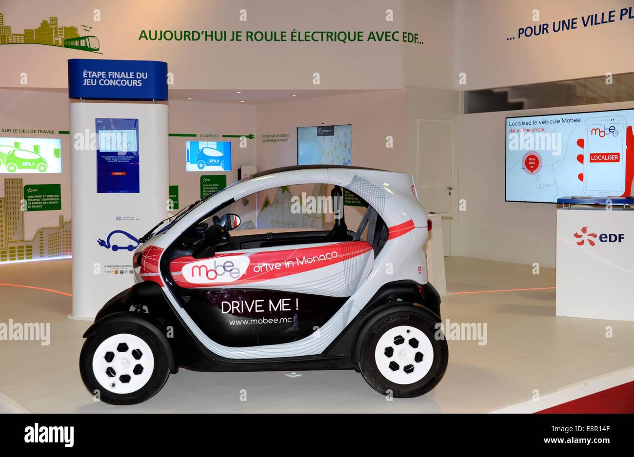 Monaco Electric Car Rental