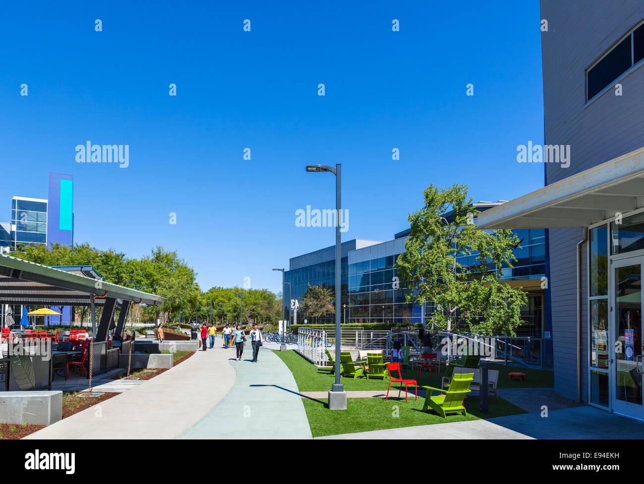 Google head office campus mountain view californias usa stock photo royalty free image - Google head office photos ...