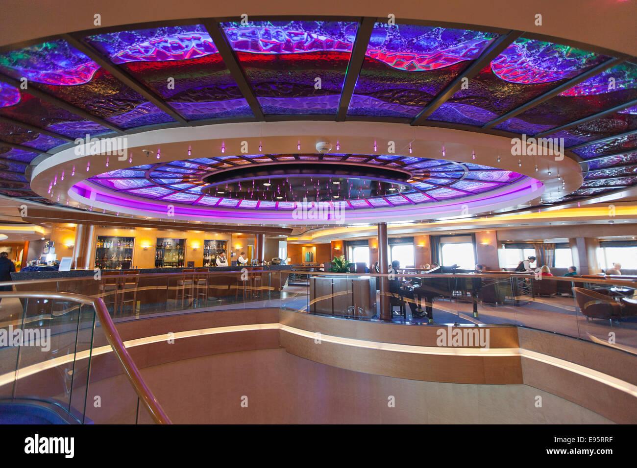 Interior Of Arcadia The P Amp O Cruise Ship Stock Photo Royalty Free Image 74501827 Alamy