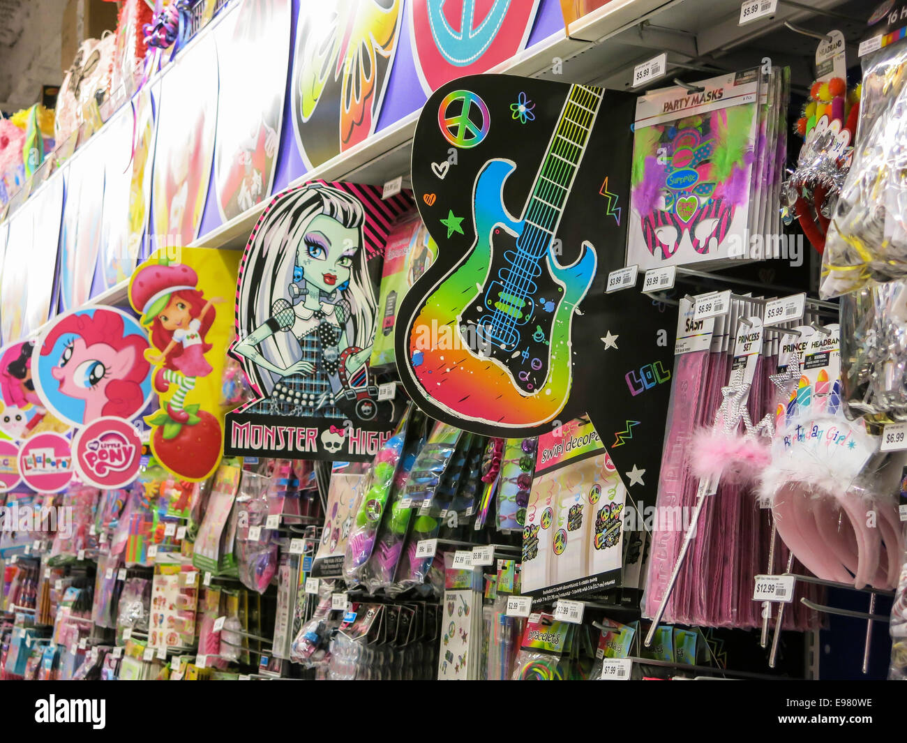 Party City Store Interior  Nyc Stock Photo  74549706