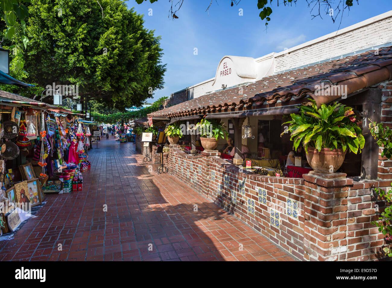 Mexican Restaurant Olvera Street Los Angeles