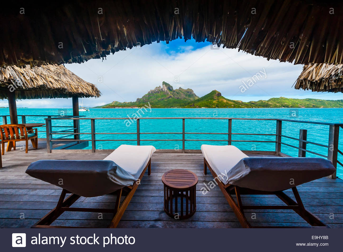Deck With Plunge Pool Overwater Bungalow Suite Four