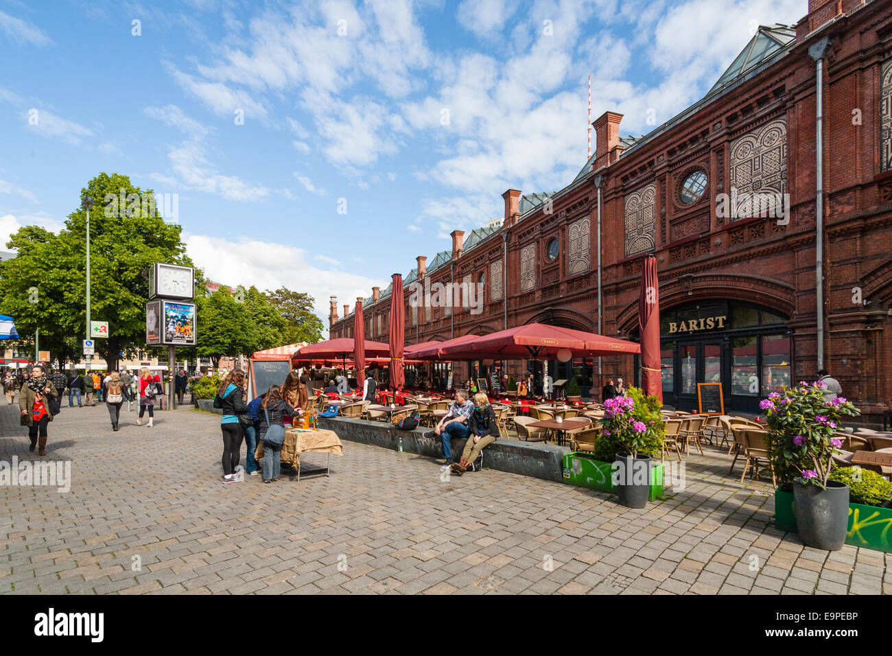 s bahn station hackescher markt berlin germany stock photo royalty free image 74867626 alamy. Black Bedroom Furniture Sets. Home Design Ideas