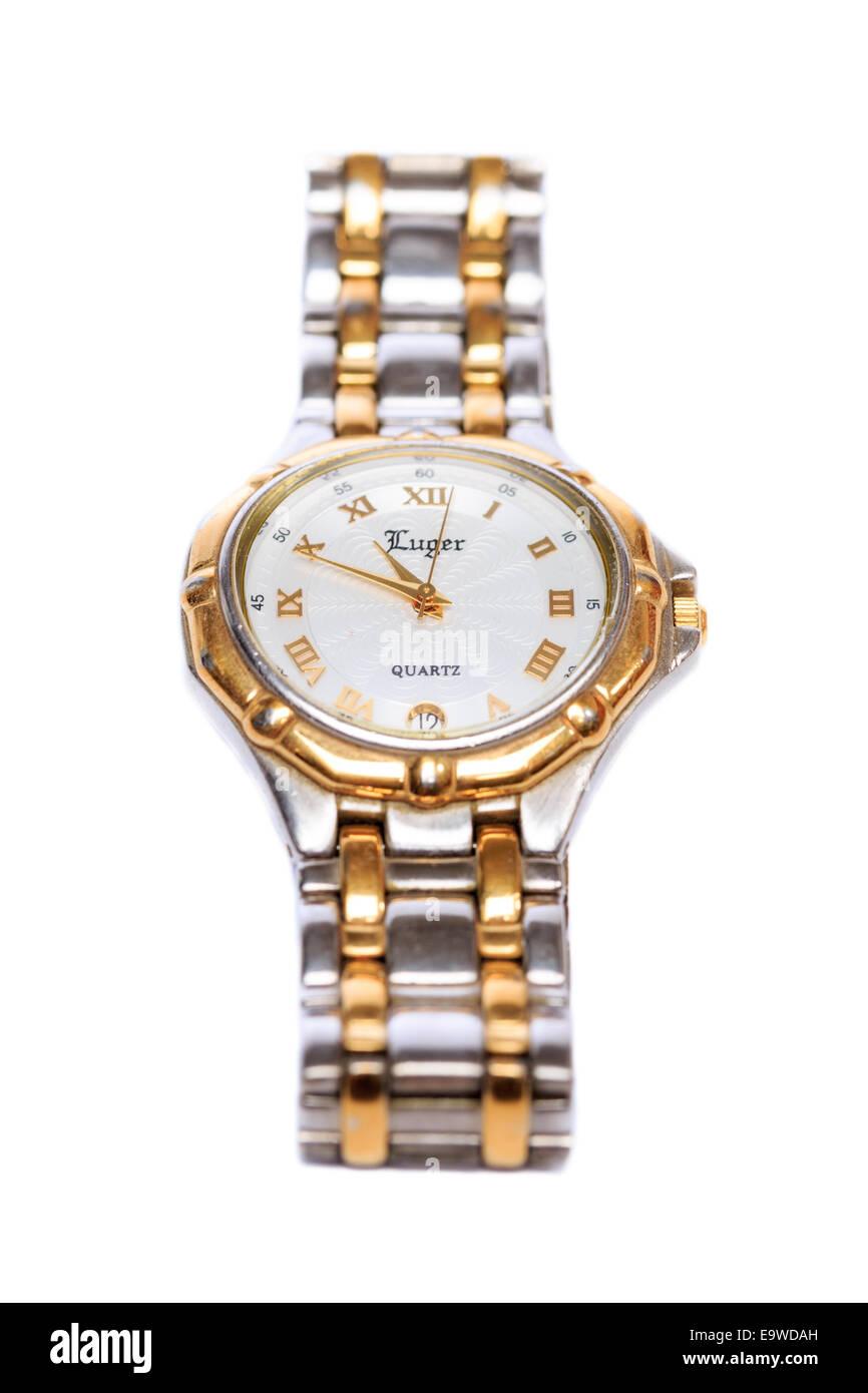 Luger Brand Analog Quartz Wrist Watch Stock Photo, Royalty ...