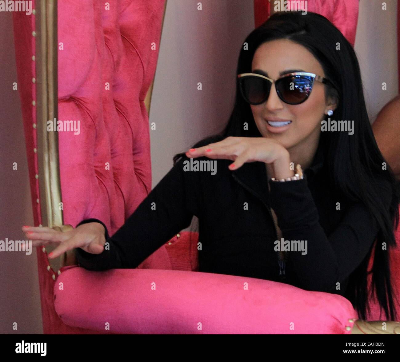 Mobile Nail Spa Los Angeles: Lilly Ghalichi Visits A Nail Salon In Beverly Hills