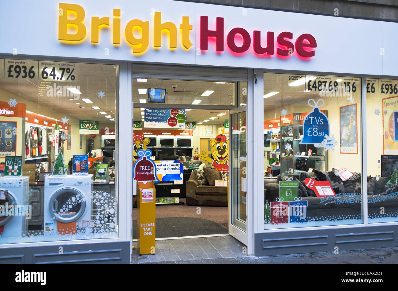 Dh bright house shop uk electrical appliance shop exterior for Right house