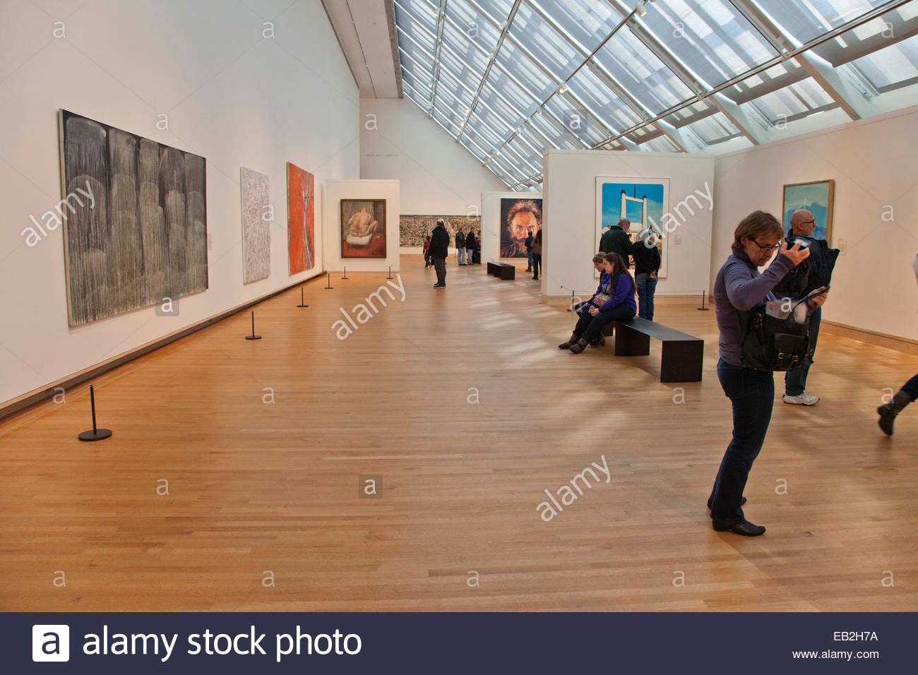 gallery of modern at the metropolitan museum of in new york stock photo royalty free