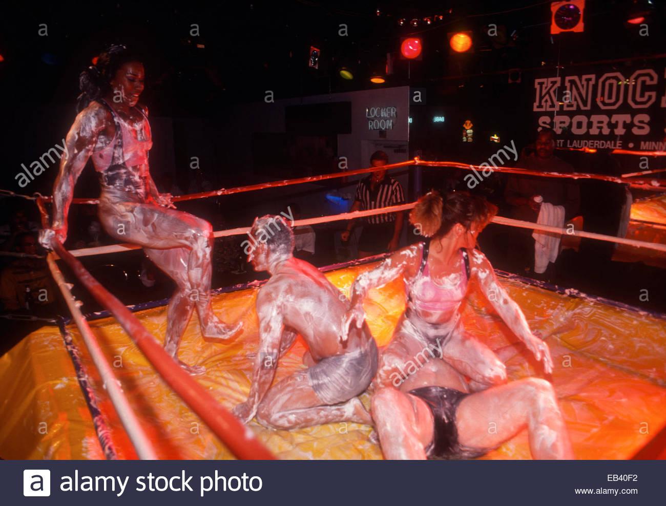 Exotic Female Oil Wrestling Video 13