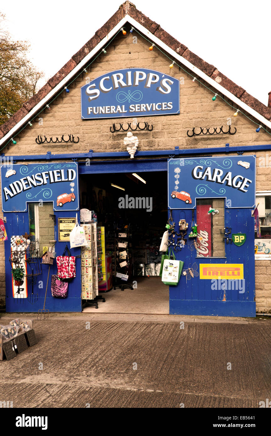 Scripps garage and funeral services featured in the tv for Garage ad agde