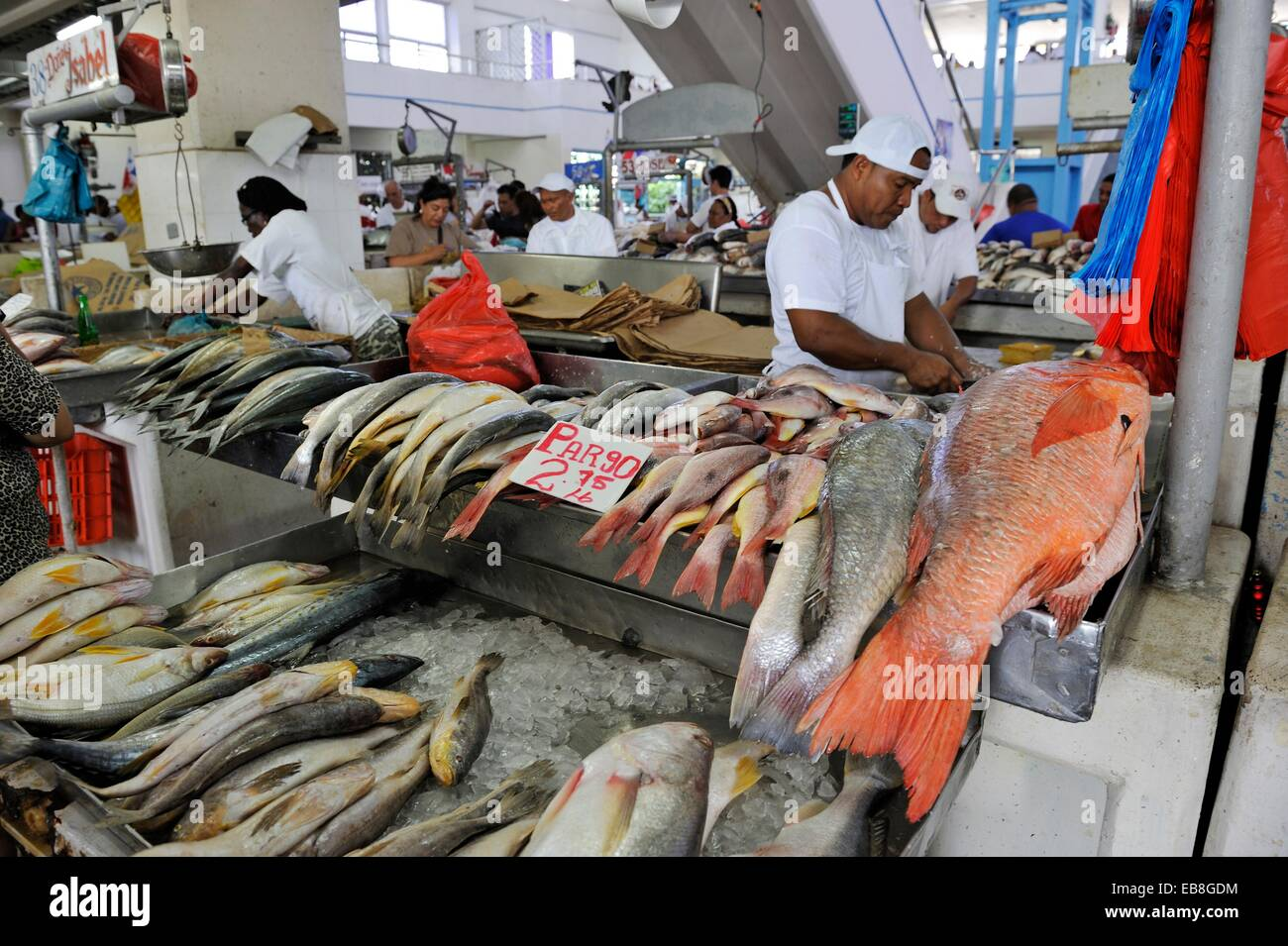 fish and seafood market san felipe area panama city