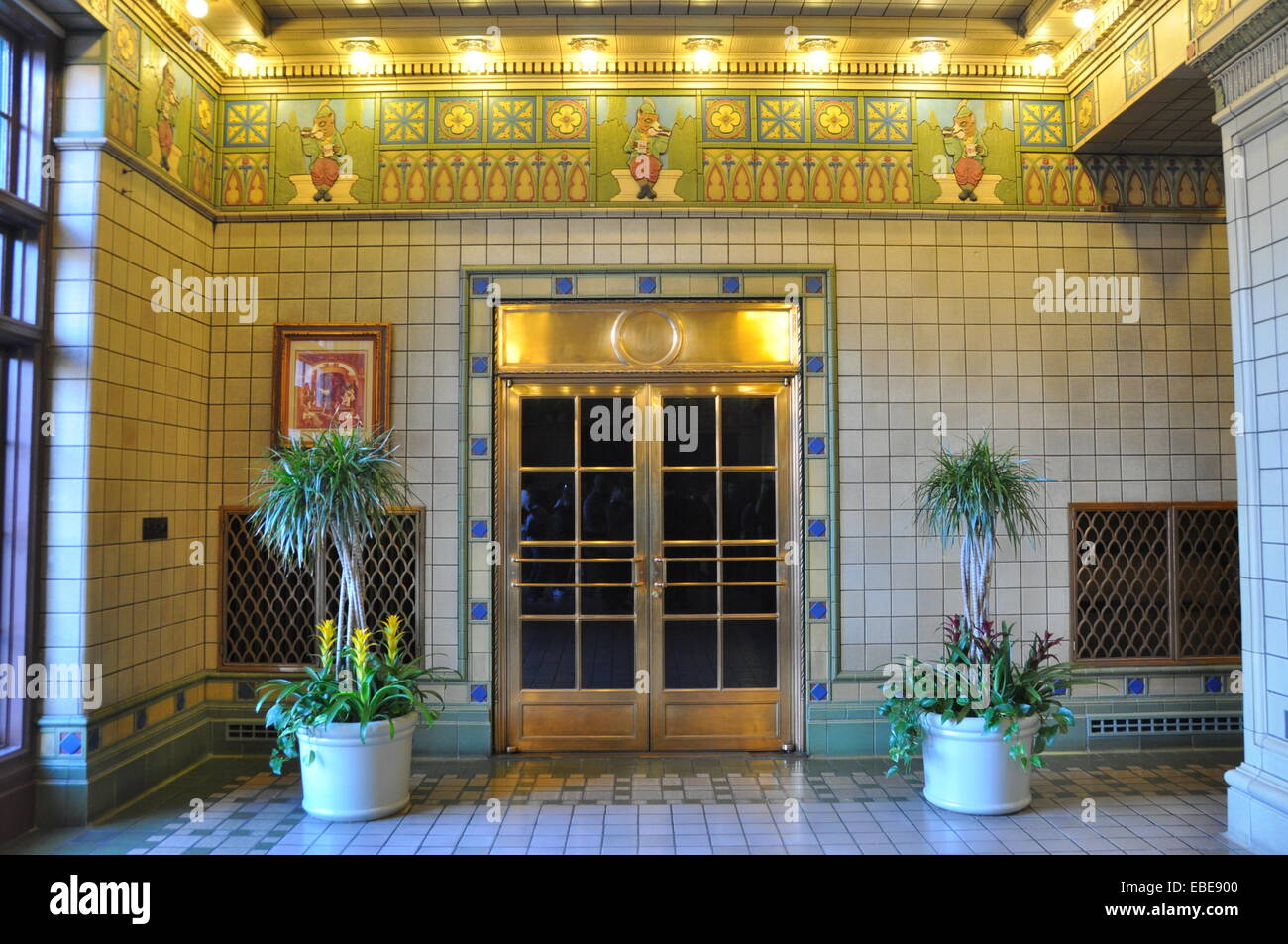 Foyer Home St Louis Reims : Art deco foyer of the bevo building anheuser busch