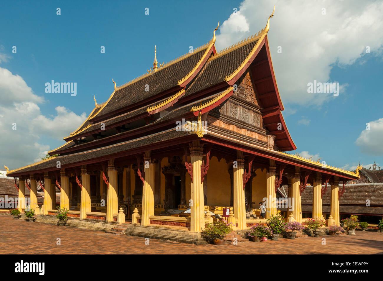 Wat Sisaket Museum, Vientiane, Laos Stock Photo, Royalty ...