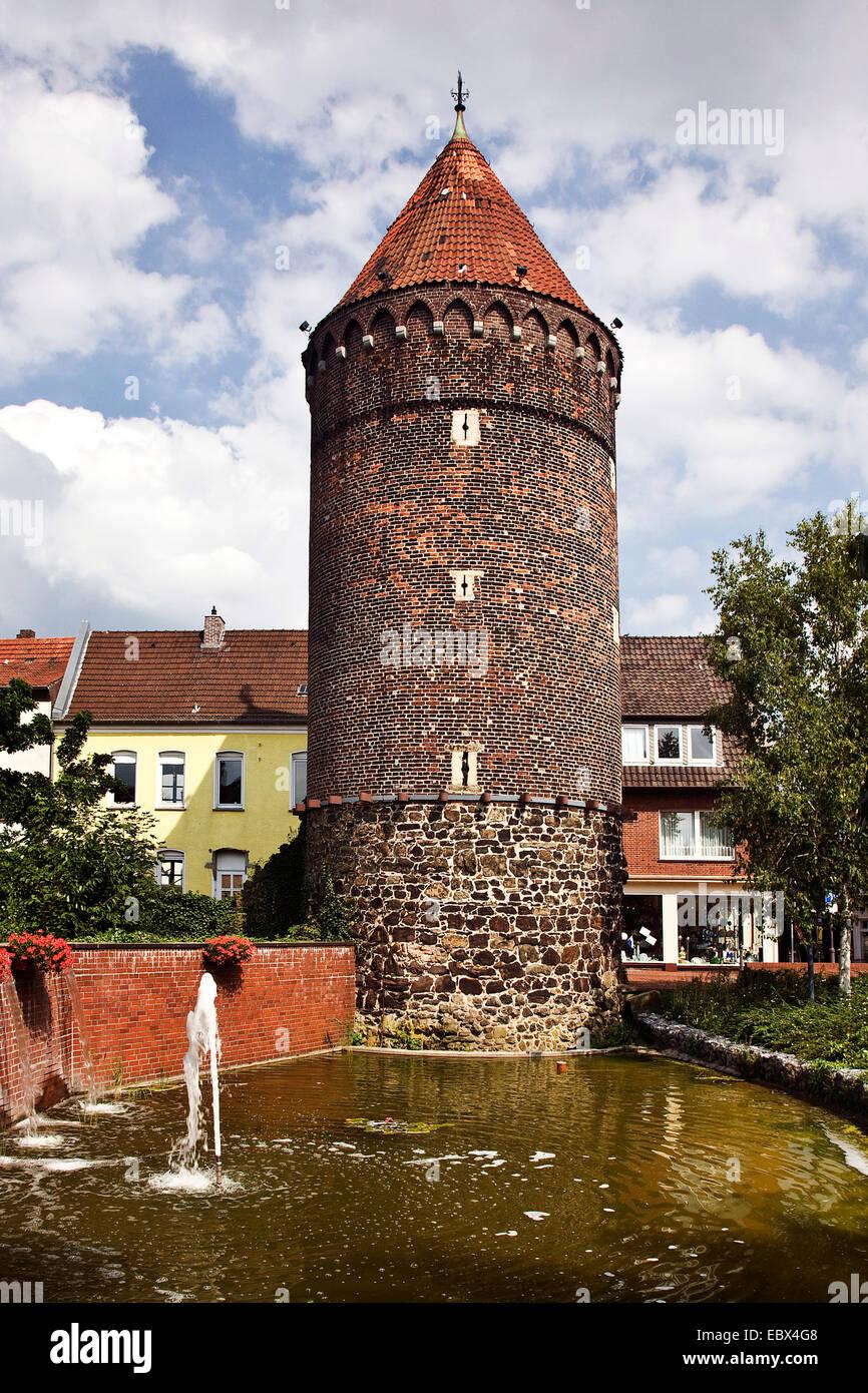 Tower Siebenteufelsturm In Haltern Am See Germany North