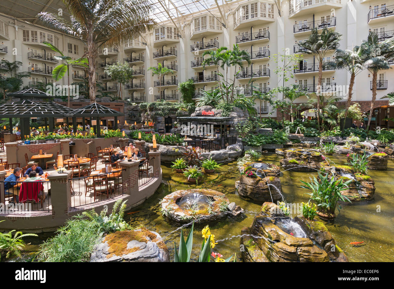 The Inn At Opryland A Gaylord Hotel Nashville Tn Usa