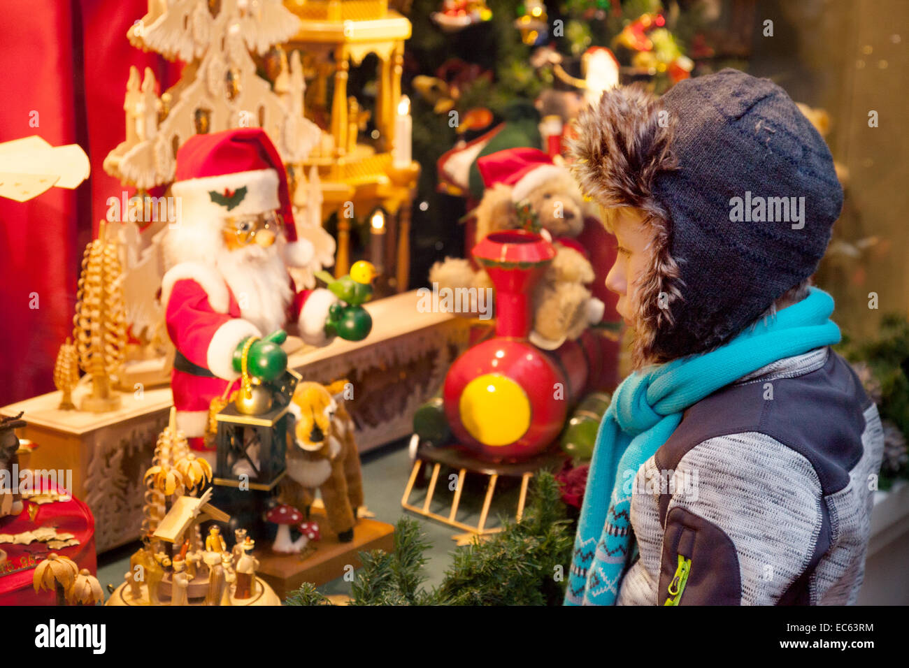 Toys For Boys Age 10 In Russian : A young caucasian boy age years looking at presents in