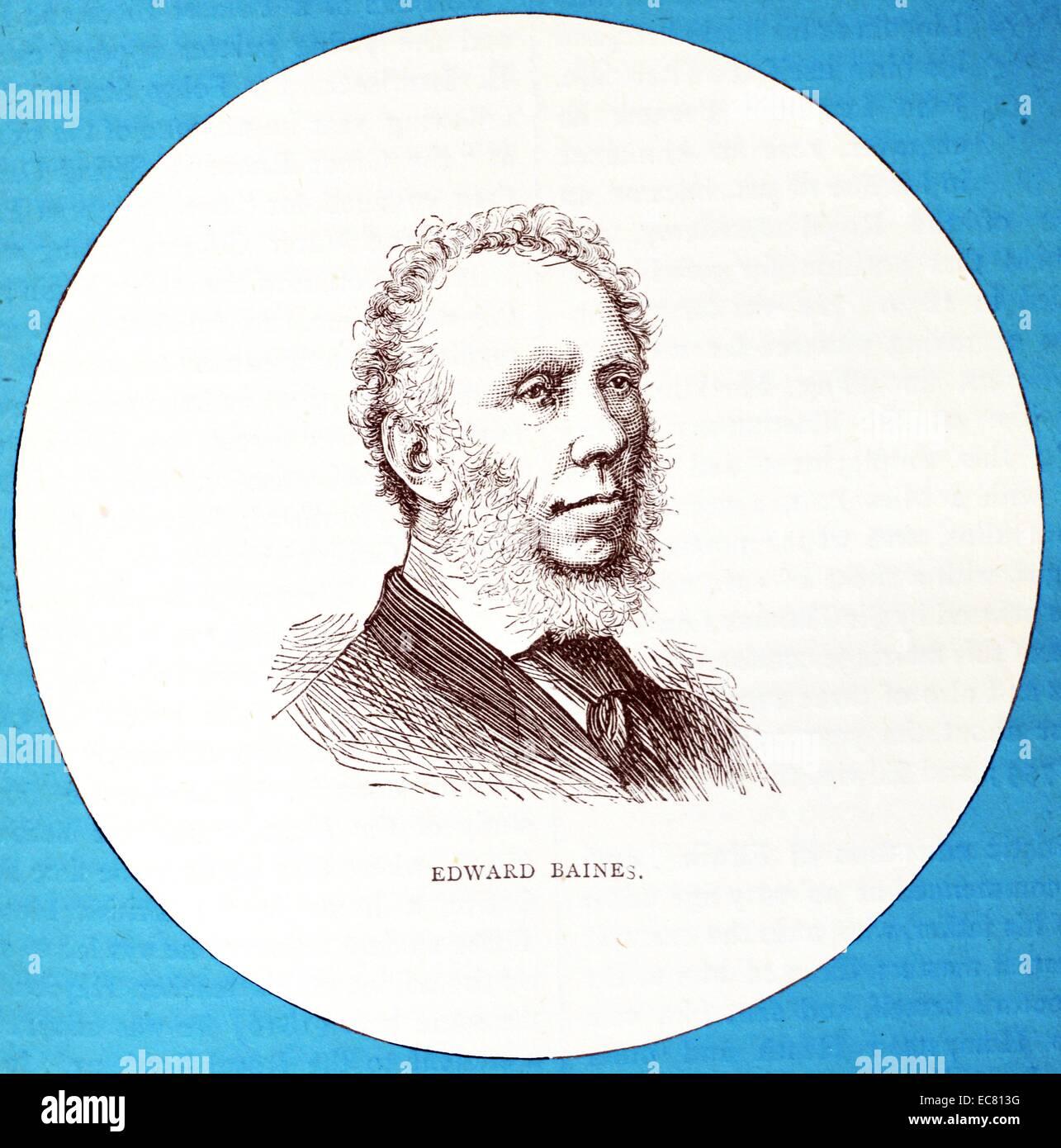 Edward Baines (1800–1890), Nonconformist English Newspaper