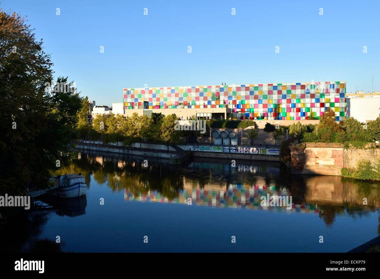 France bas rhin strasbourg musee d 39 art moderne et contemporain de stock photo royalty free - Musee d art moderne et contemporain de strasbourg ...