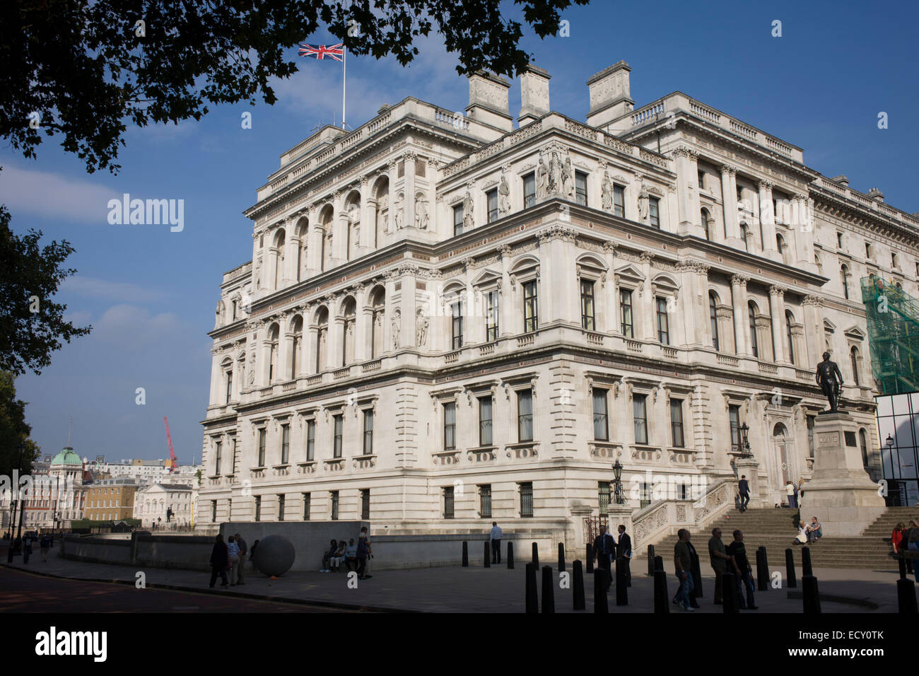 The italianate style the foreign and commonwealth office main stock photo royalty free image - British foreign commonwealth office ...