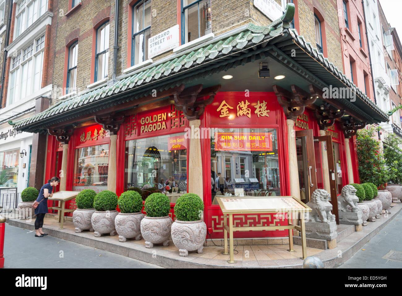 Chinatown London Restaurant Map