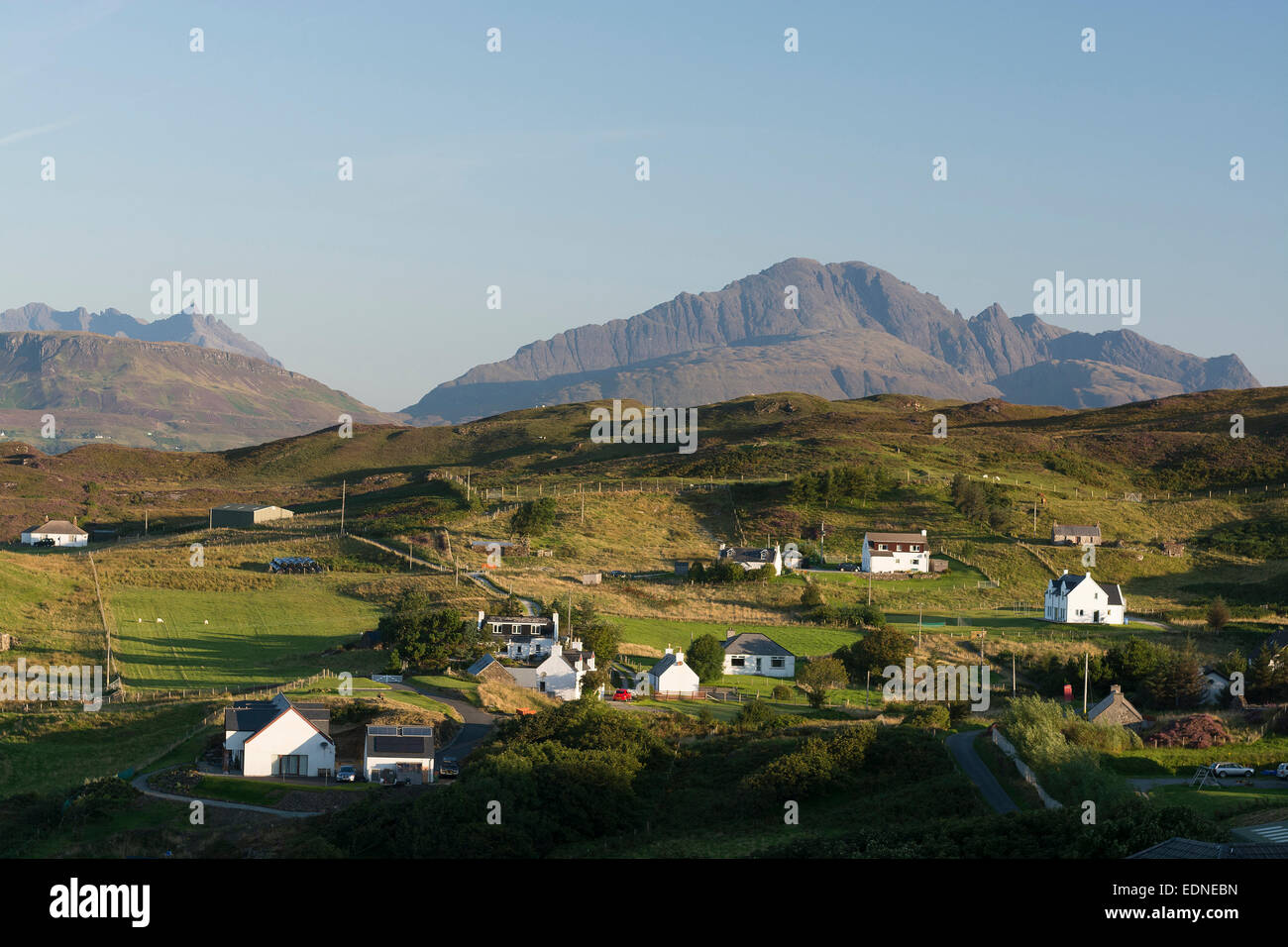 tarskavaig isle of skye Stock Photo