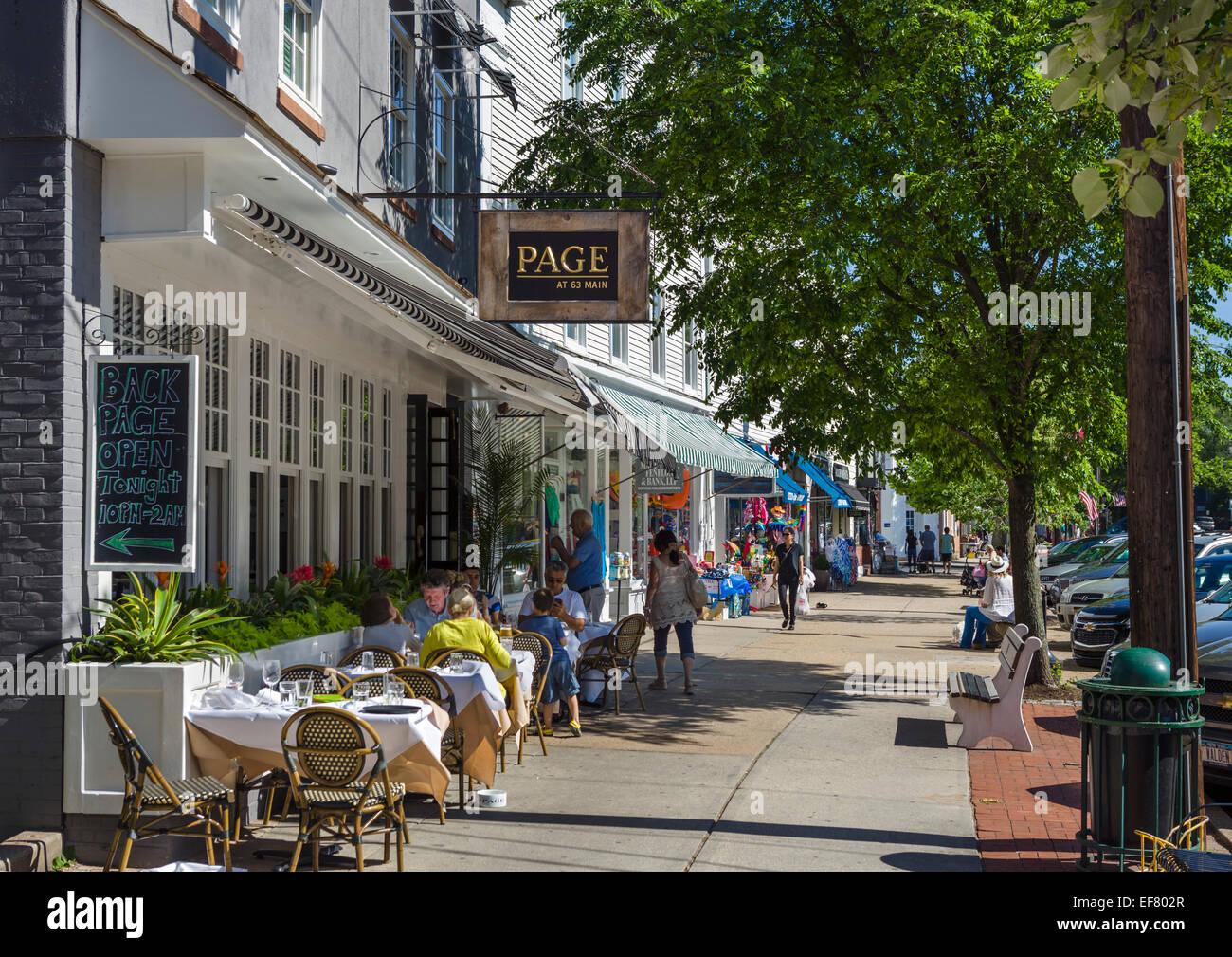 Main Street Sag Harbor Restaurants