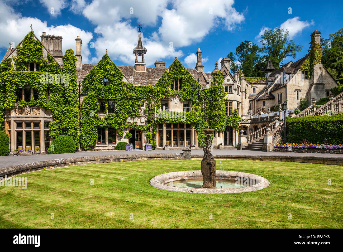 The Manor House Hotel in the Cotswold village of Castle ...