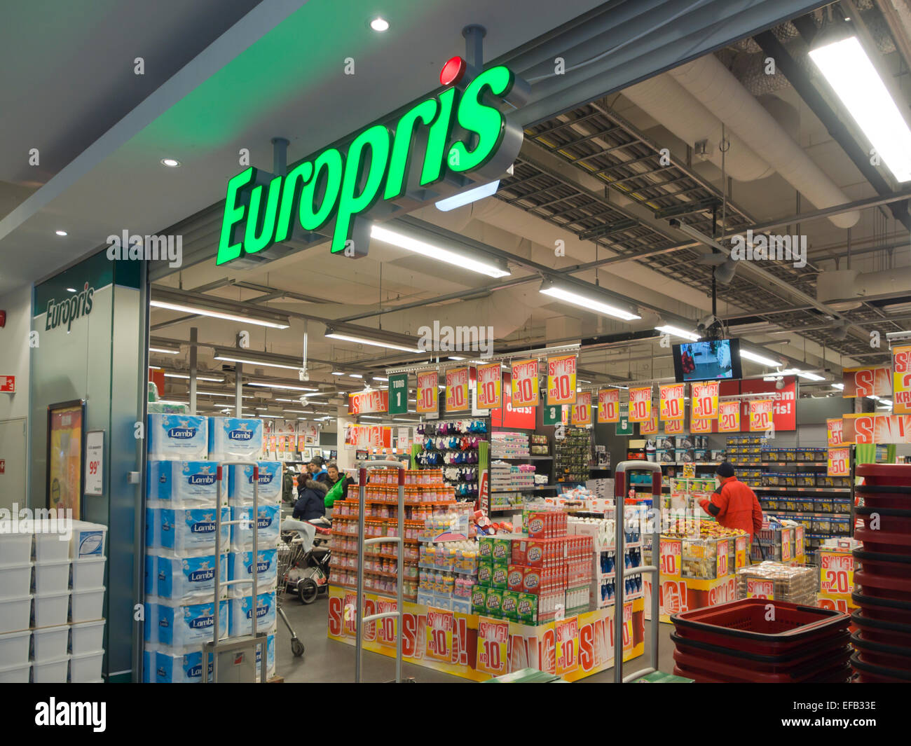 Europris Low Price Shopping Chain In Norway With