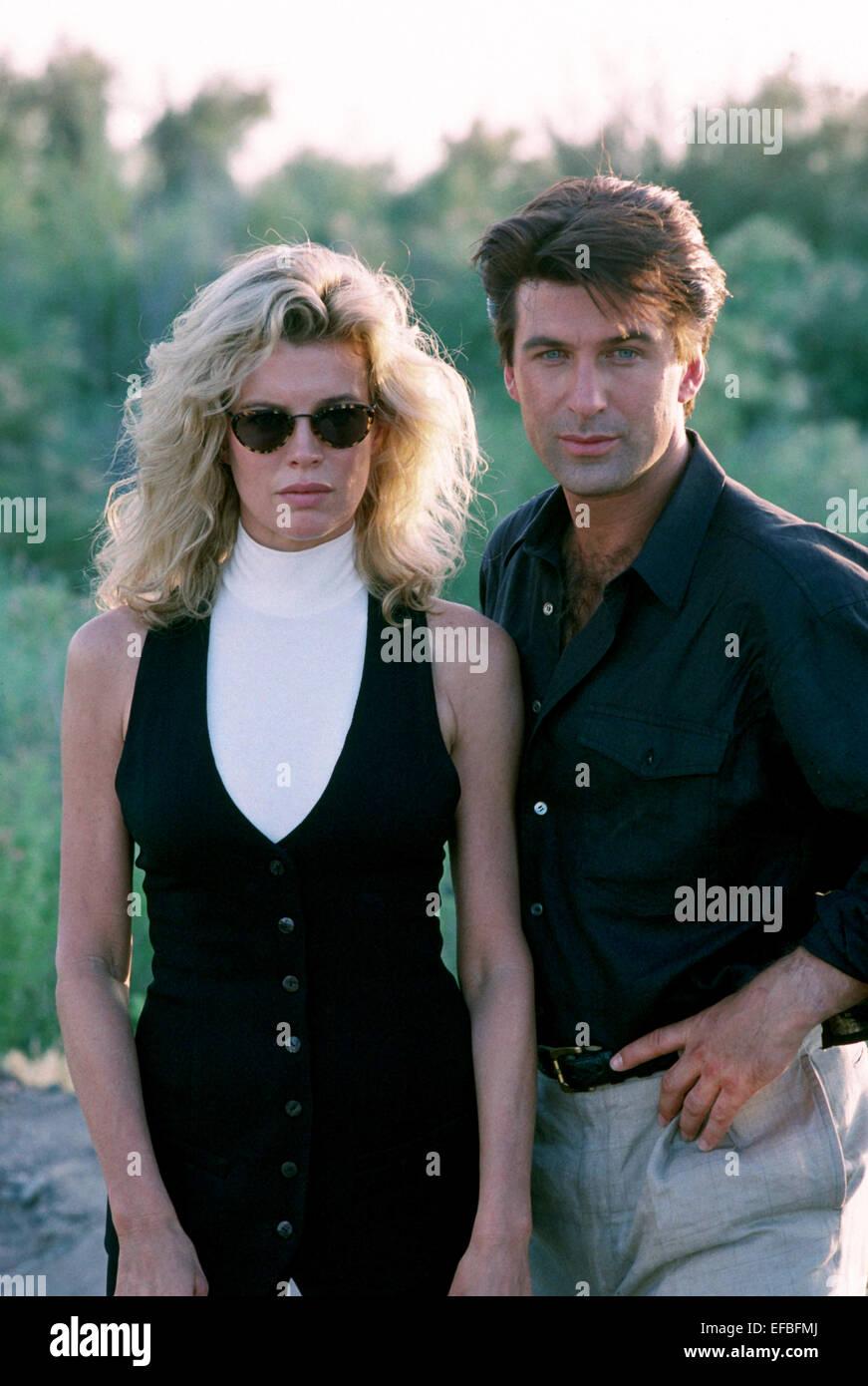 kim basinger amp alec baldwin the getaway 1994 stock photo