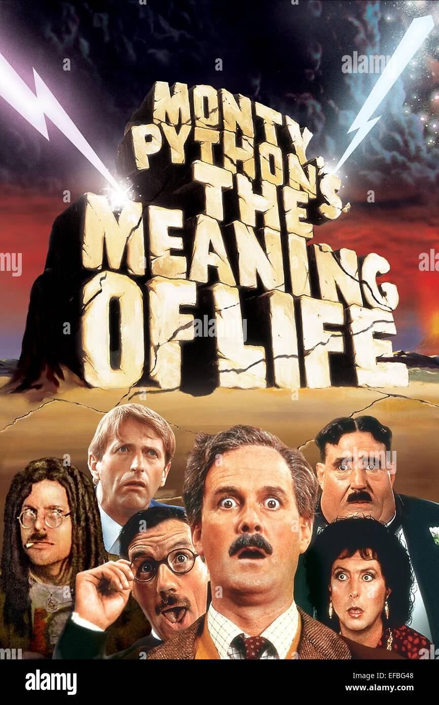 movie poster monty pythons the meaning of life 1983