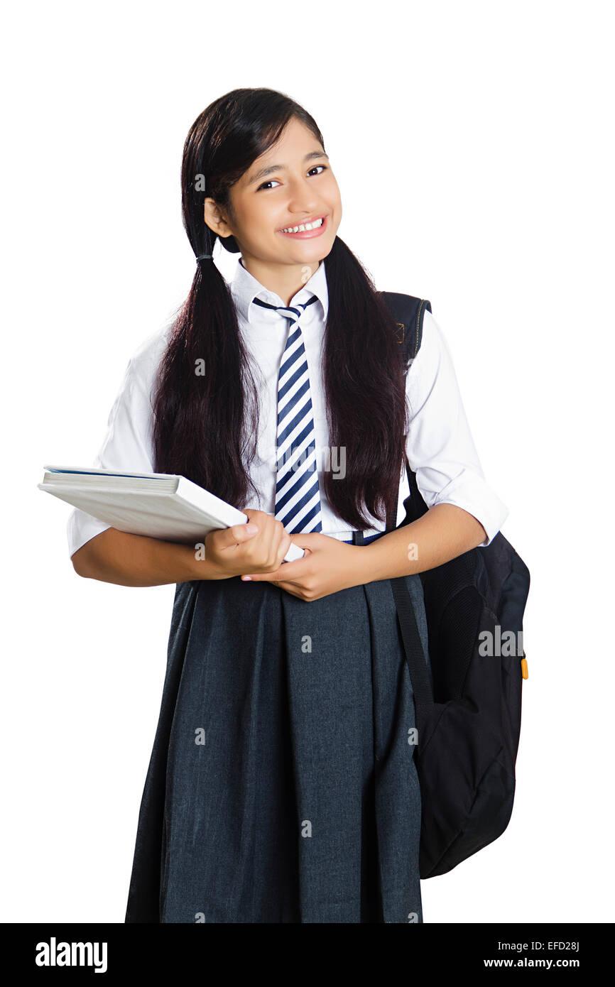 1 indian girl school student Stock Photo: 78348498 - Alamy