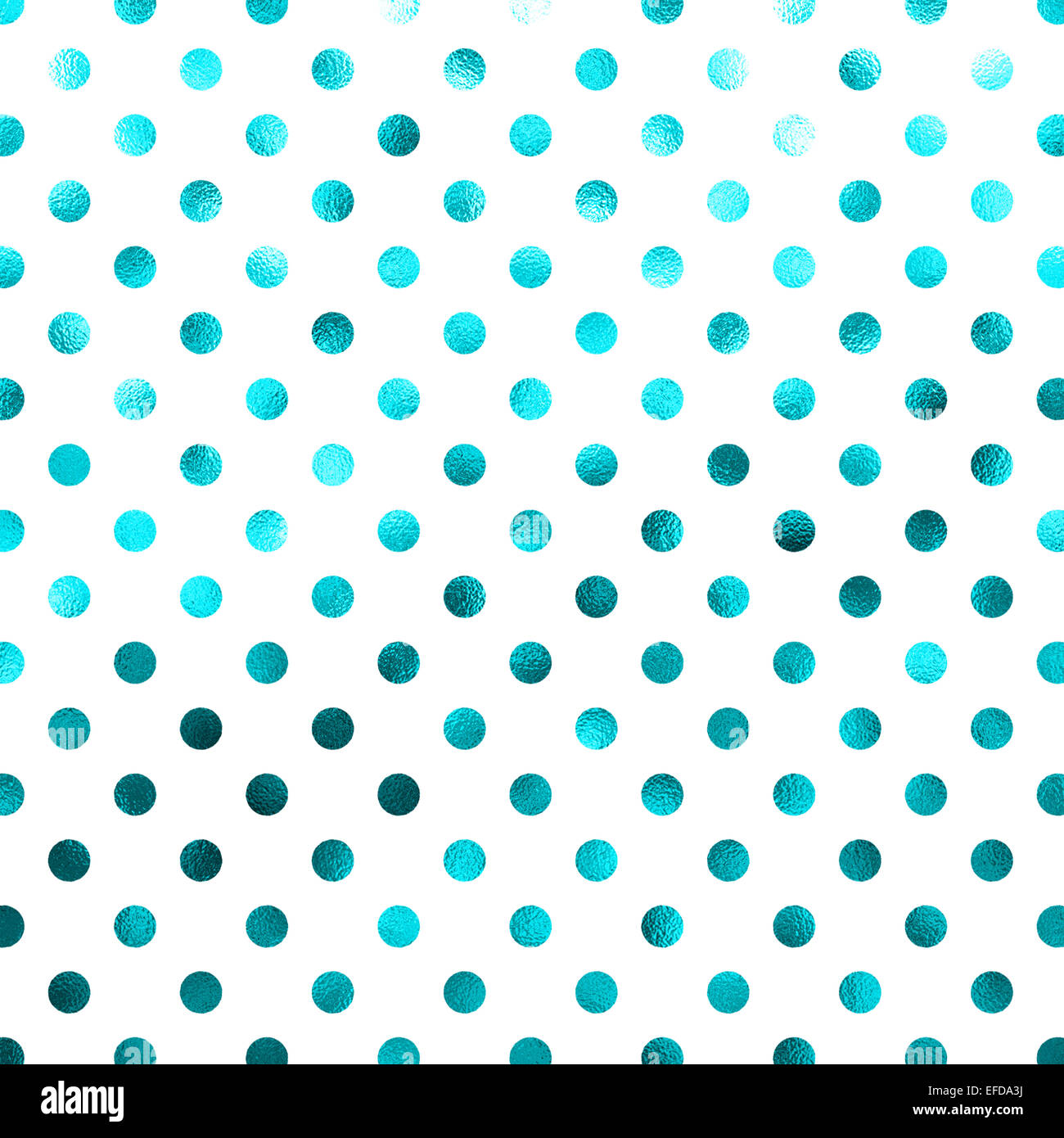 The Texture Of Teal And Turquoise: Blue Teal Turquoise White Polka Dot Pattern Swiss Dots
