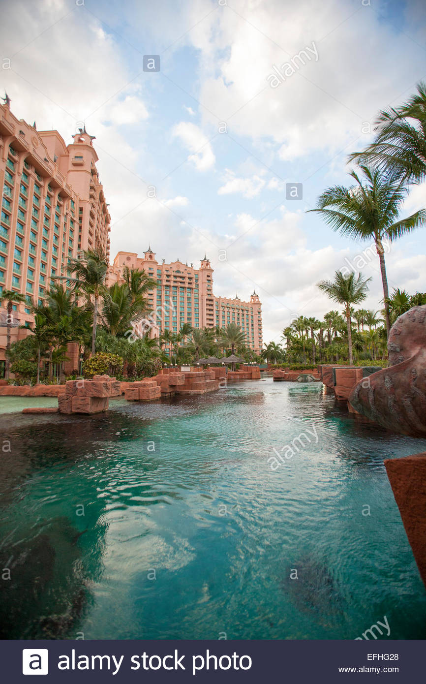Atlantis Hotel Nassau Bahamas Stock Photo Royalty Free