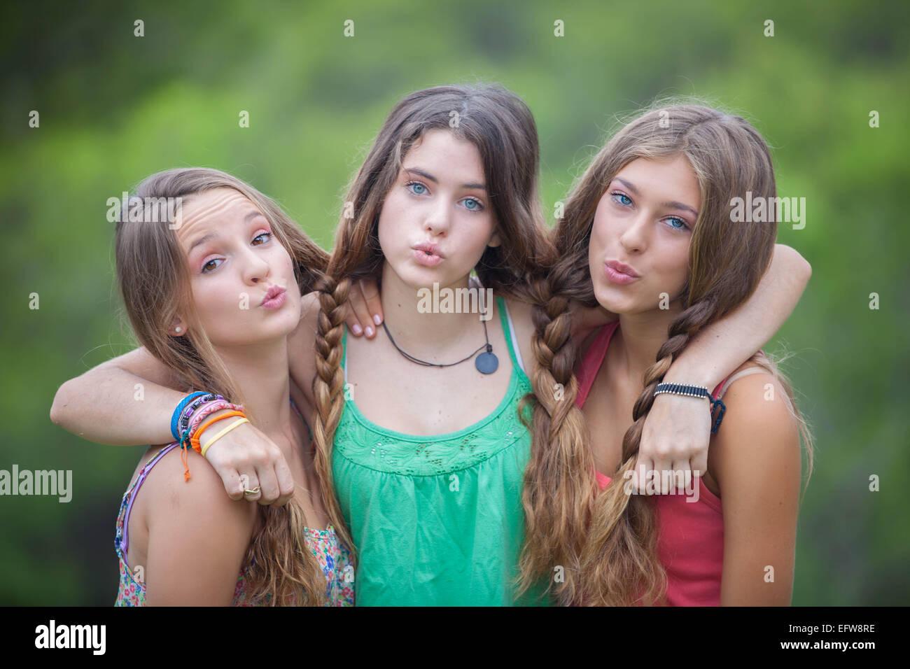 teen Healthy girl young