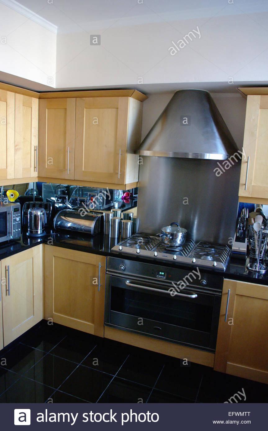 kitchen london england kitchen interior design house home modern stock photo royalty free image