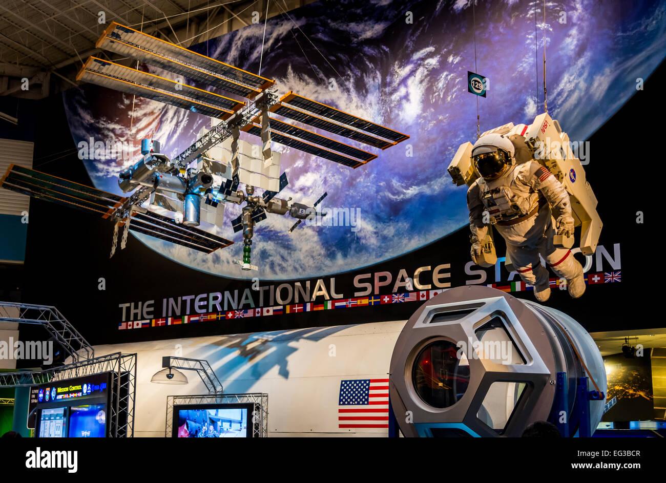 Model of the International Space Station at NASA Johnson ...