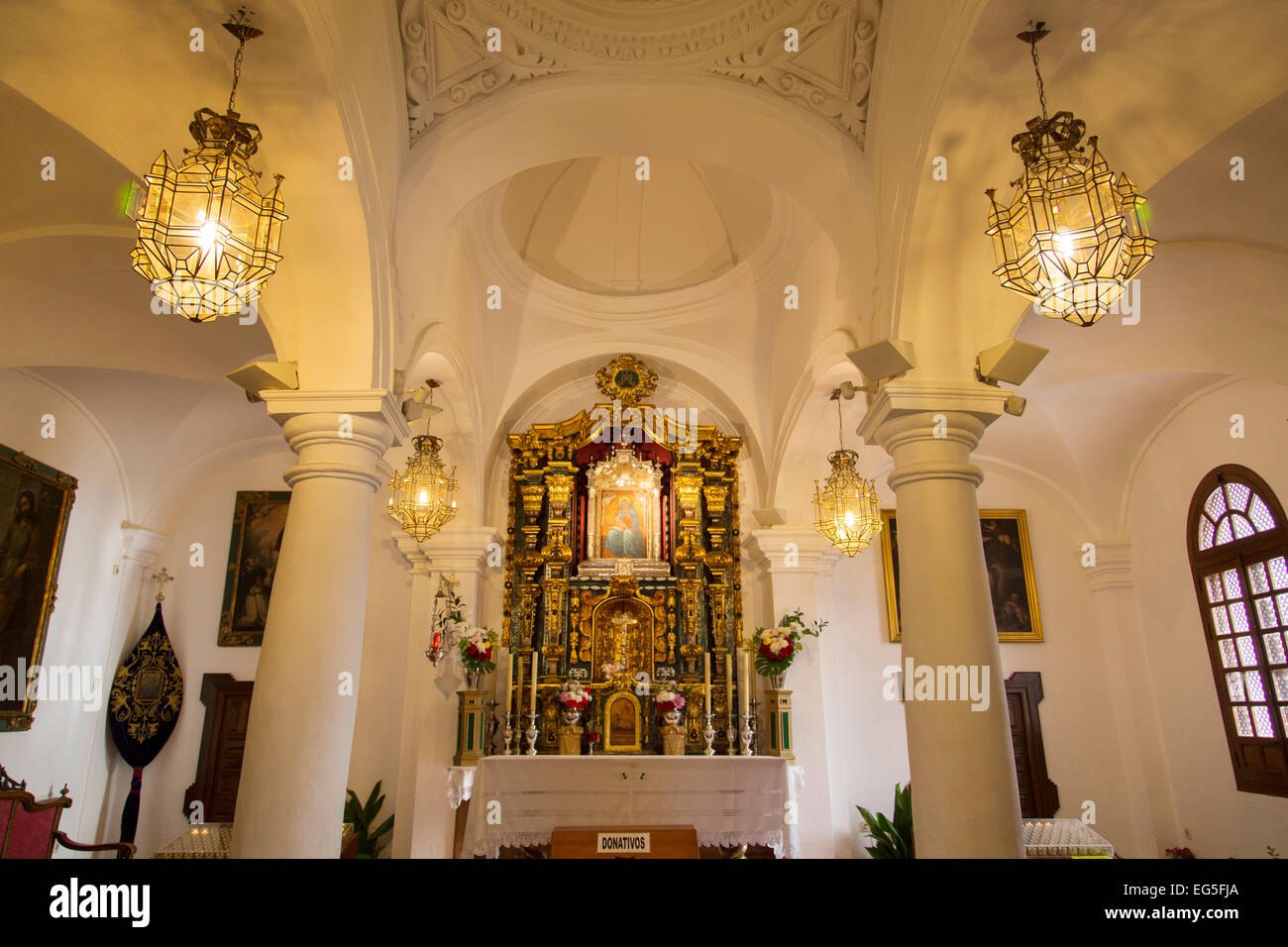 Hermitage Sanctuary Nuestra Señora Gracia Archidona Andalusia Spain Stock Pho...