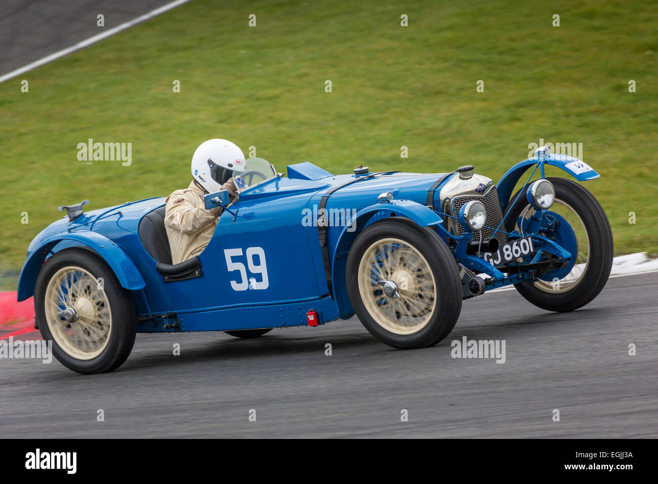 1930 Riley 9 Brooklands With Driver James Potter 2014