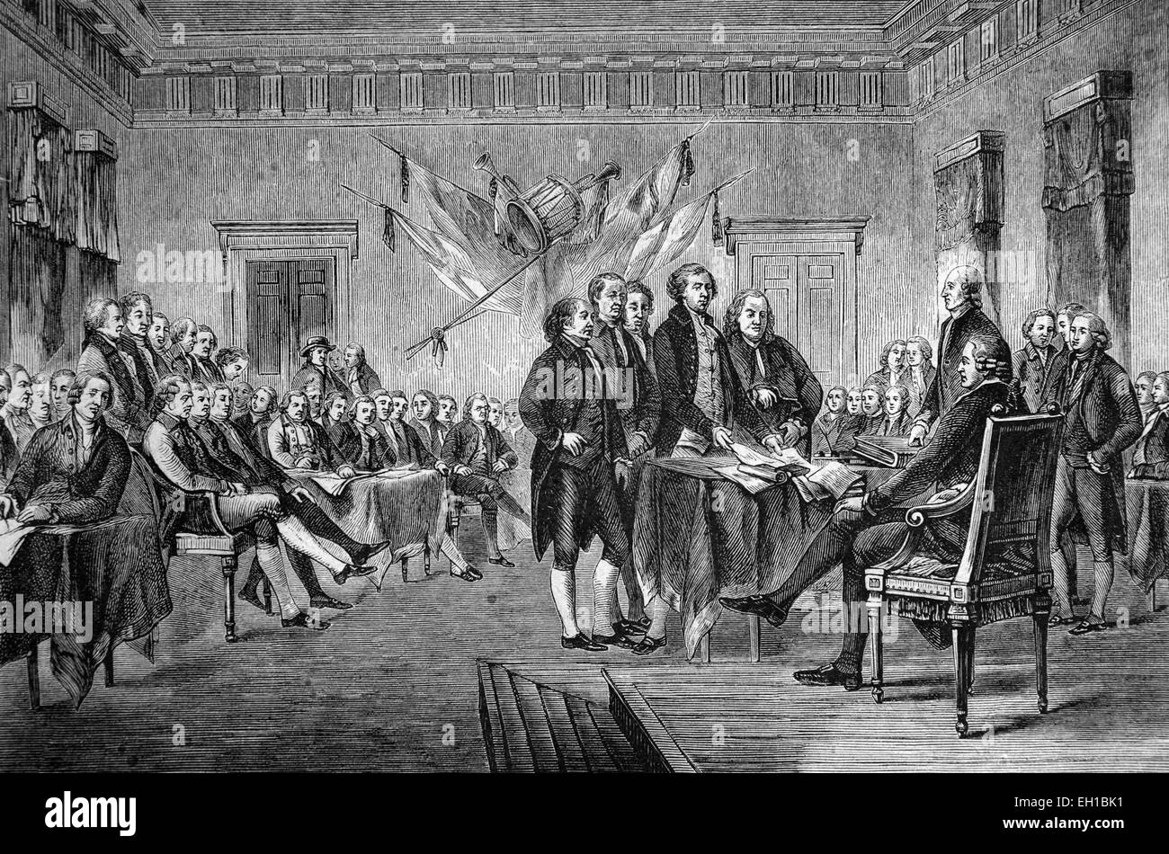 the history of the united states declaration of independence The declaration of independence is the usual name of a  instead they formed a new nation—the united states of  the most famous version of the declaration,.