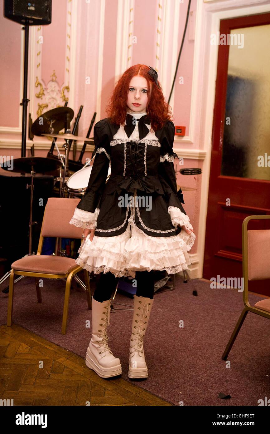 free young goth girl nn